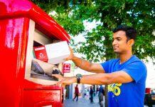 parcel postbox