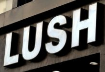 Lush Debenhams House of Fraser Mark Constantine