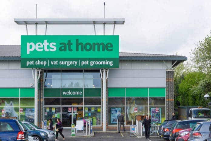 Pets at Home stockpiling