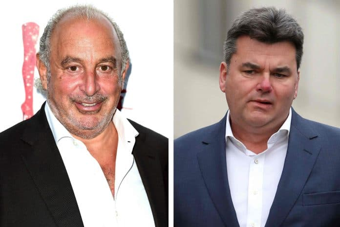 Philip Green Dominic Chappell