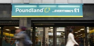 Poundland branches out to interior design with stick-on-wall tiles