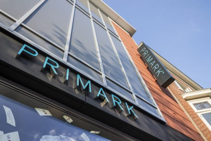 Primark sustainability recycling flagship