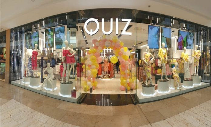Quiz has warned that March revenues and margins were set to be