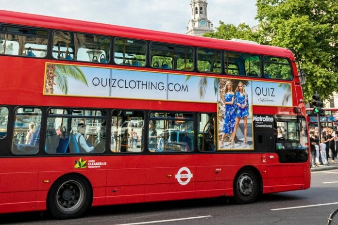 Declining footfall & in-store sales drag Quiz's half-year revenues