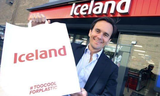 Iceland paper bag