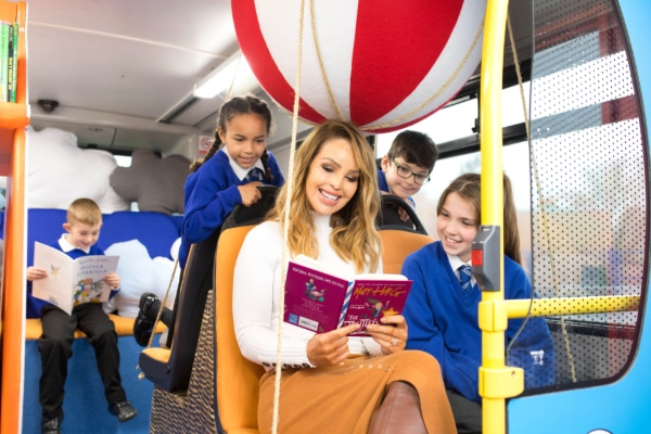 Sainsbury's transformed an old London bus into a school library for children to enjoy as part of its 150 Days of Community scheme encouraging children to read more. Pupils were treated to a surprise visit from Katie Piper who read a selection of stories to encourage positive mental health and wellbeing in children.