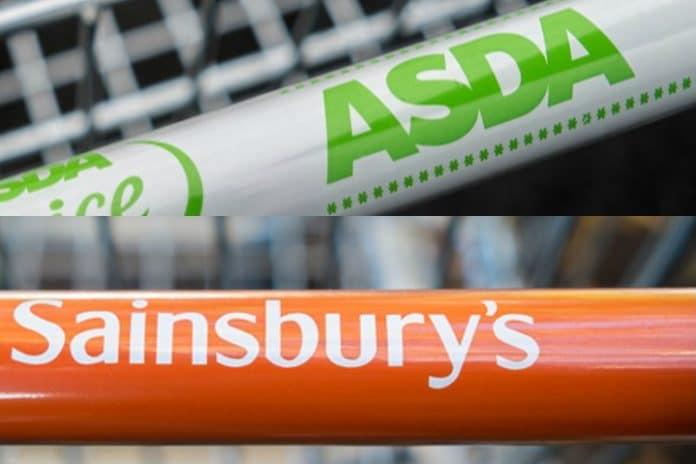 Sainsbury's Asda