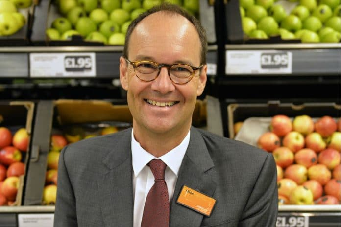 Sainsbury's CEO Mike Coupe