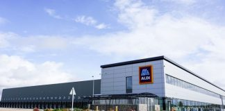 Aldi opens £64m East Midlands distribution centre Sawley Derbyshire