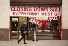 retail insolvencies