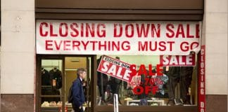 shop vacancy rate