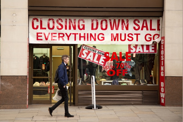 shop vacancy rate