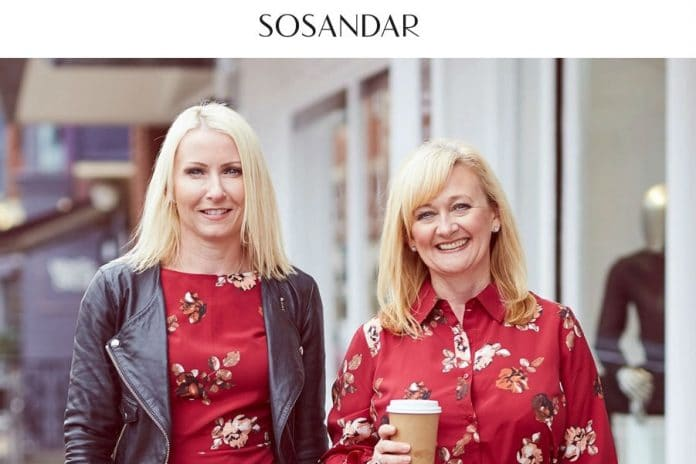 Sosandar half-year sales surge 53%. Ali Hall Julie Lavington
