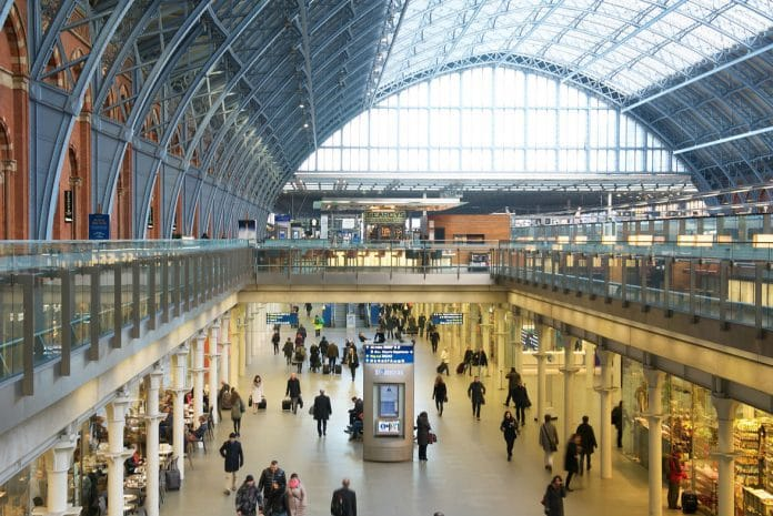 St Pancras International station in London is set to welcome a raft of new high-end retailers such as Chanel. (Supplied image)