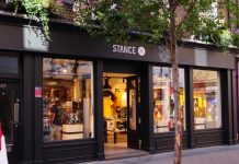 Shaftesbury has announced that sock retailer Stance has opened a flagship on Carnaby Street, West London.
