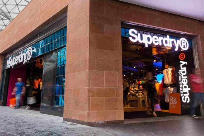"""""""Year of reset"""" brings £4.2 half year loss for Superdry"""