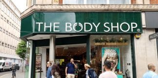 The Body Shop posts quarterly profits & sales uptick