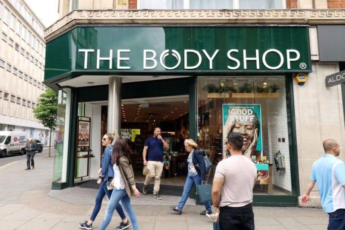 The Body Shop posts quarterly profits & sales uptick