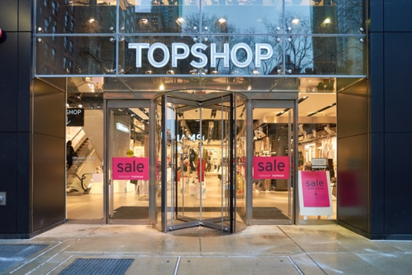 Topshop Arcadia Sir Philip Green Gillian Ridley Whittle