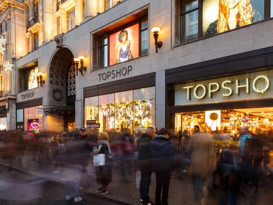 Arcadia completes Topshop flagship's £310m refinancing