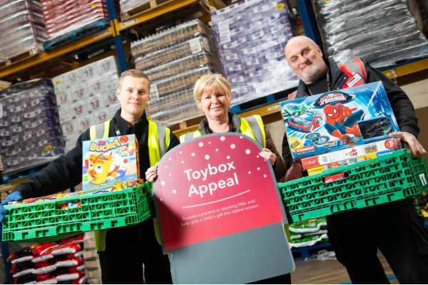 Central England Co-op customers and members got into the festive spirit by donating over 12,000 presents for kids this Christmas.As part of the retailer's first ever Christmas Toybox Appeal items were dropped off at special donation points located in all 244 stores across 16 counties or handed over to Santa's elves.