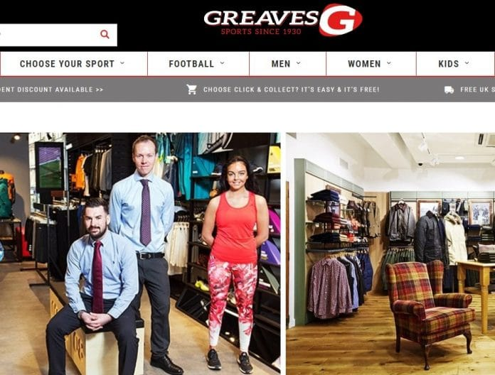 Greaves Sports trading update