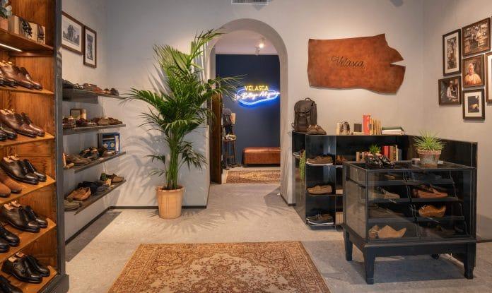 Italian shoemaker Velasca opens debut UK store Chiltern Street Marylebone