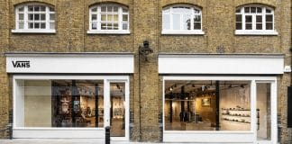 Vans has kicked off its UK retail transformation with the official opening of its brand new boutique store in Covent Garden, West London. The store, located on Neal Street is the first of its kind in Europe, spanning 4,359sq ft. featuring two floors.