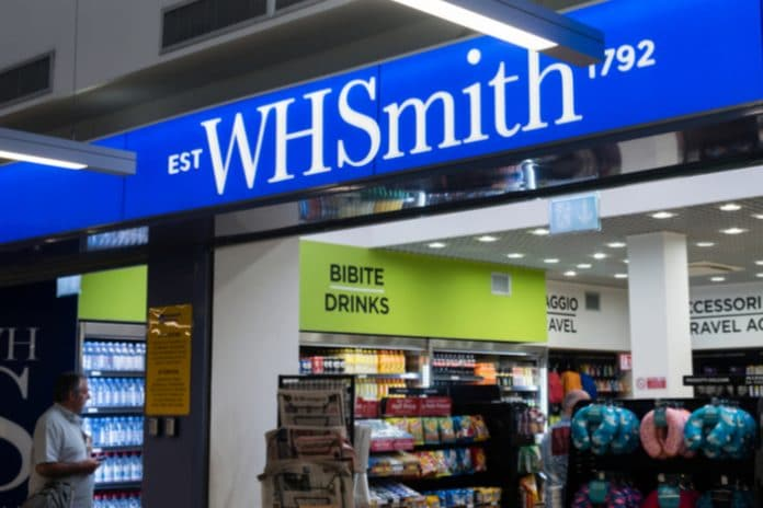 WHSmith Carl Cowling Christmas trading update