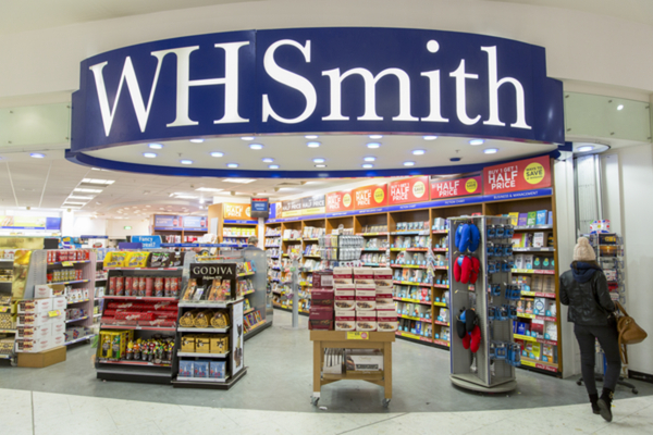 """WHSmith reports back on £226m loss after """"challenging year"""""""