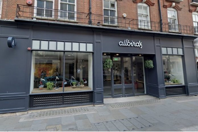 Allbirds takes stand against Black Friday by emptying London flagship