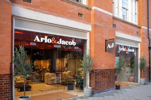 Arlo & Jacob has opened the doors to its flagship London showroom at Islington Square. The 4,700sq ft. space will house over 65 products and feature a large collection of hand-made sofas, chairs and accessories with a focus on premium British craftsmanship.