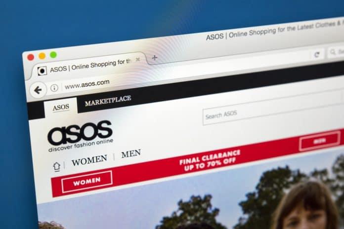 Asos trading stock market