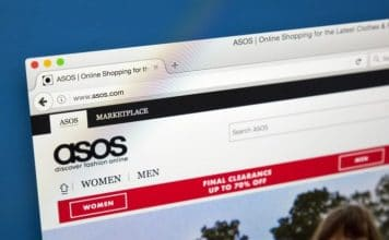 Asos trading update Nick Beighton CEO