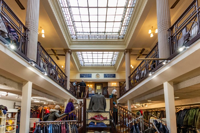 "Derby's Bennetts - ""the world's oldest department store"" - is saved. Again."