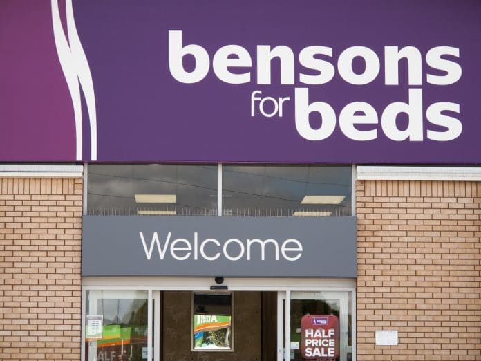 Bensons for Beds & Harveys are no longer owned by Steinhoff