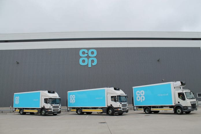 Co-op distribution centre
