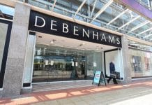 Debenhams new store Oman expansion middle east Jess Shepherd