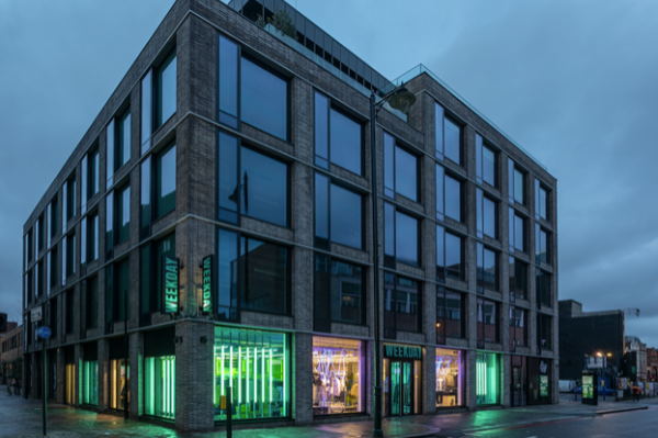 Weekday has opened the doors to its newest store on Shoreditch High Street, the centre of the East End's creative hub.The location houses a store-made studio, with visible screen-printing stations in which Zeigeist prints, reflecting global events and happenings, are created weekly.