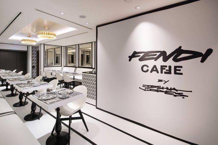 Fendi cafe London