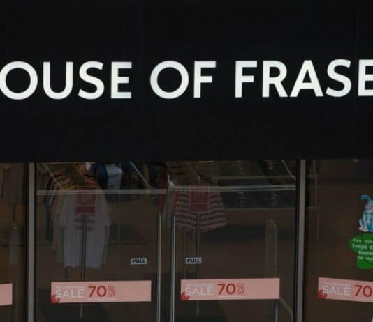 House of Fraser Sports Direct administration Mike Ashley