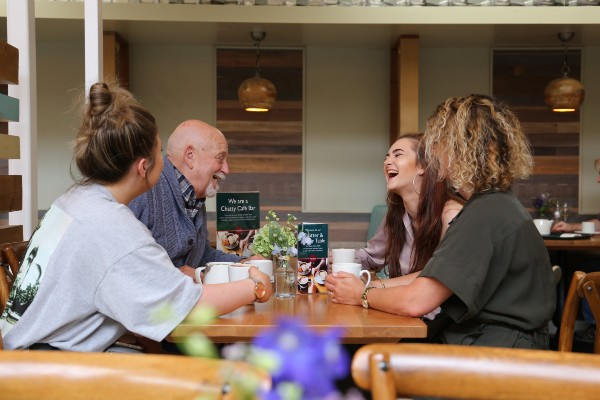 Squire's Garden Centres has introduced its Chatty Cafe scheme to combat loneliness. All of their Café Bars now have 'Chatter & Natter' tables which are available to everyone. The main idea is for shoppers to engage in good old-fashioned human interaction.