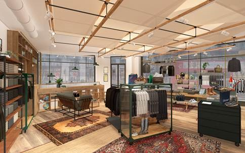 Belstaff flagship expansion