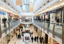 high street footfall shopping centres