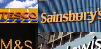 Tesco, M&S, Sainsbury's, John Lewis