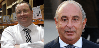 Mike Ashley Philip Green