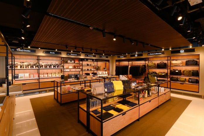 London magazine Monocle open their first retail store at Hong Kong International Airport.
