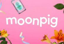 Moonpig sales