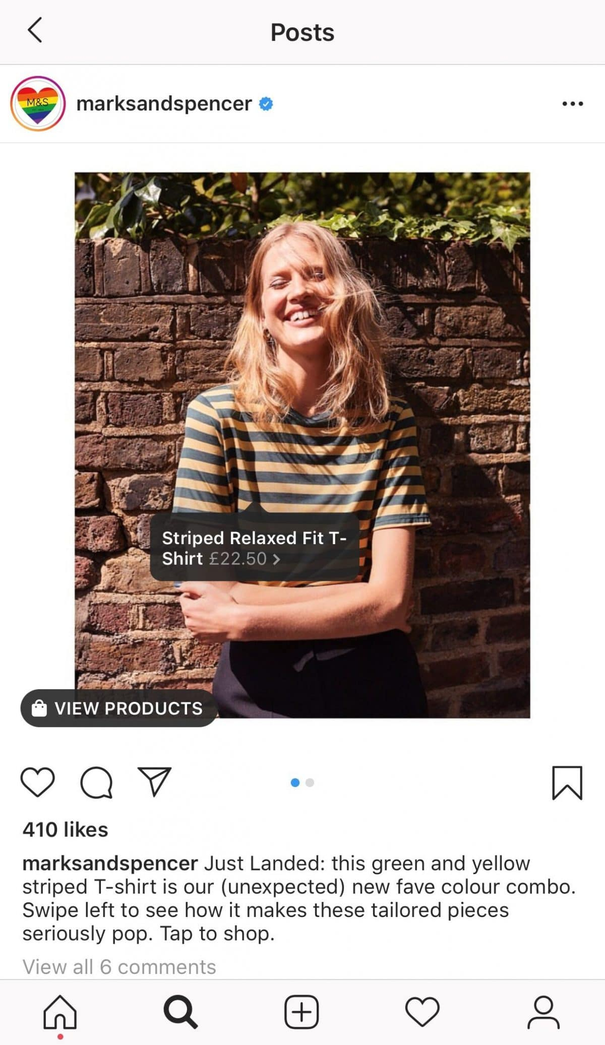 Insta-shopping Instagram