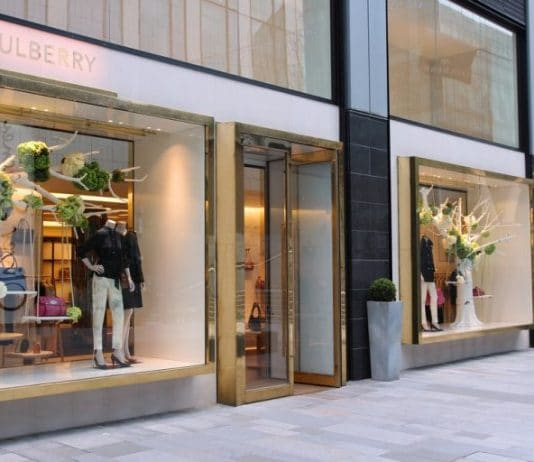 Mulberry CFO Ted Baker Charles Anderson Neil Ritchie